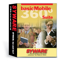 The basicMobile 360 Suite provides a developer with a complete mobile database development solution