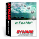 mEnable software provides mobile database synchronization for handheld database applications